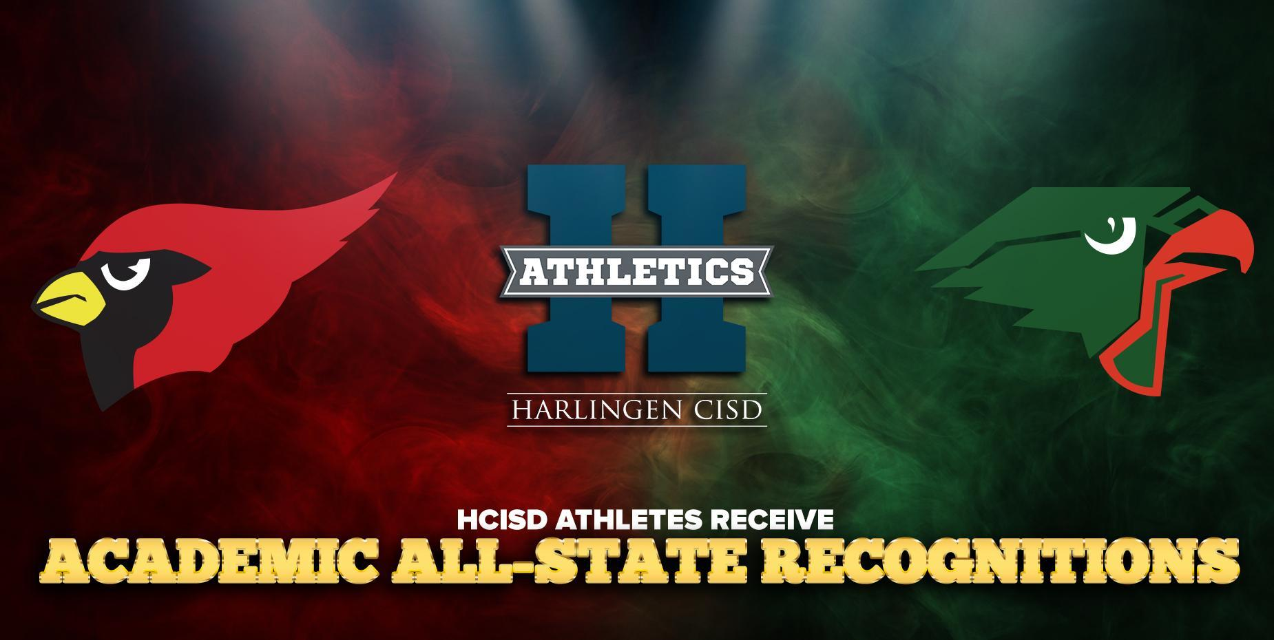 HCISD athletes receive Academic All-State recognitions