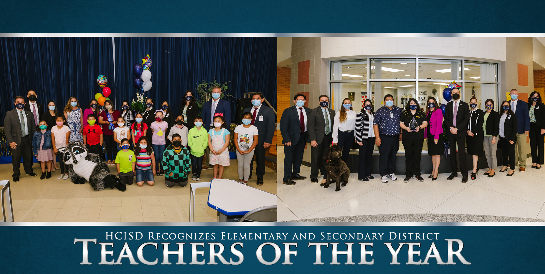 HCISD recognizes elementary and secondary district teachers of the year