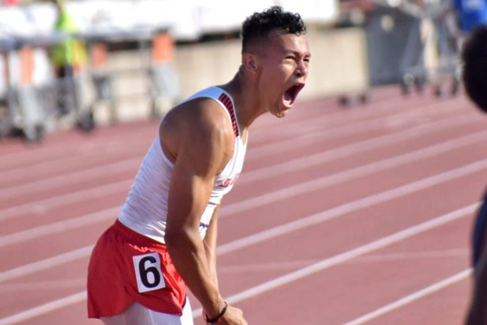Cardinal athlete Jose Garcia earns state championship with record-breaking run