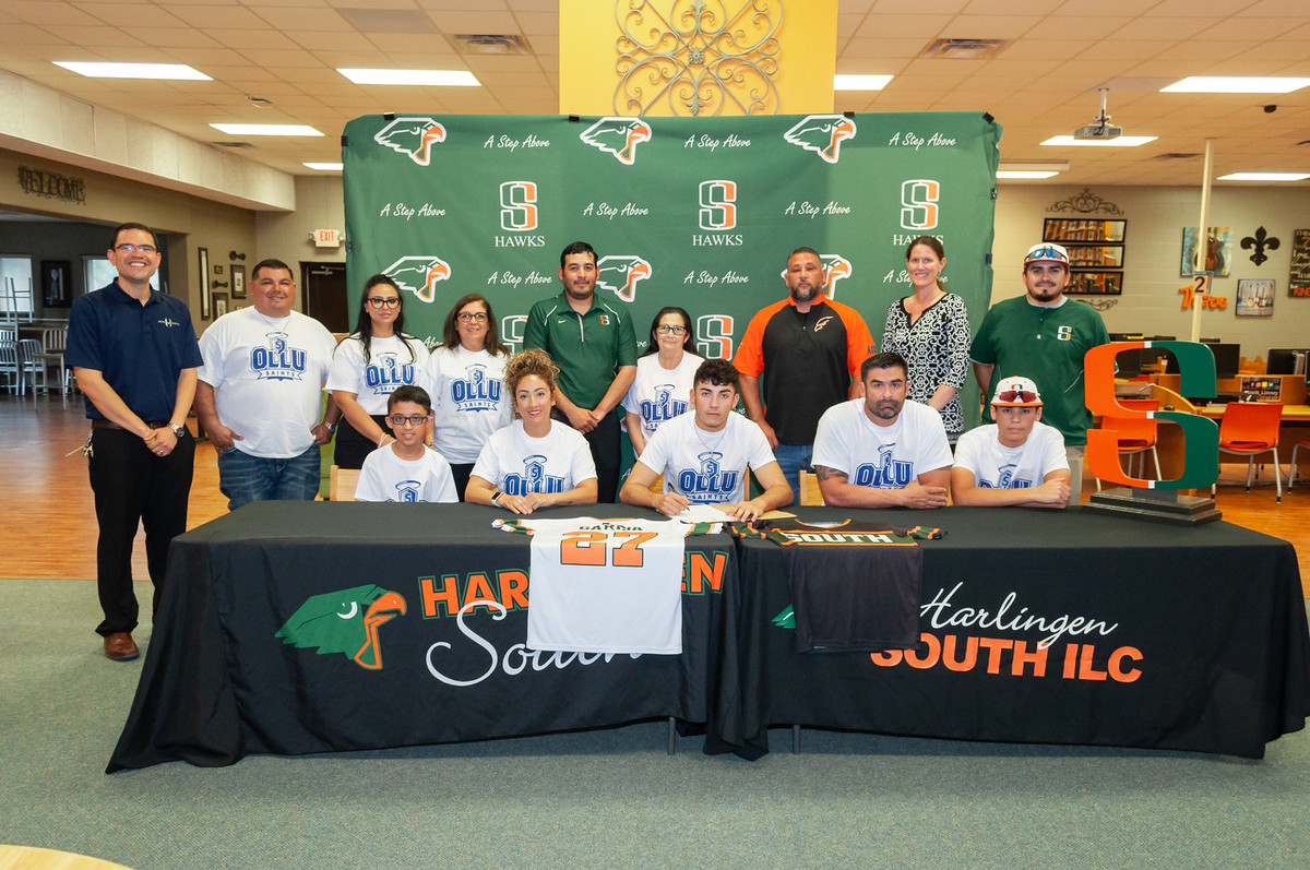 South Baseball athlete signs with Our Lady of the Lake University