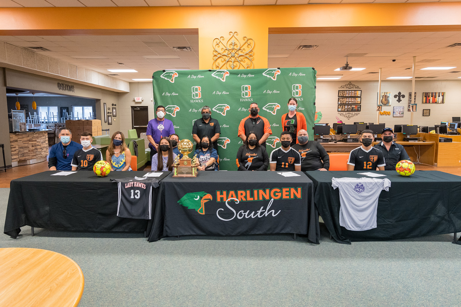 Four Hawks sign letters of intent to play soccer at Ranger College