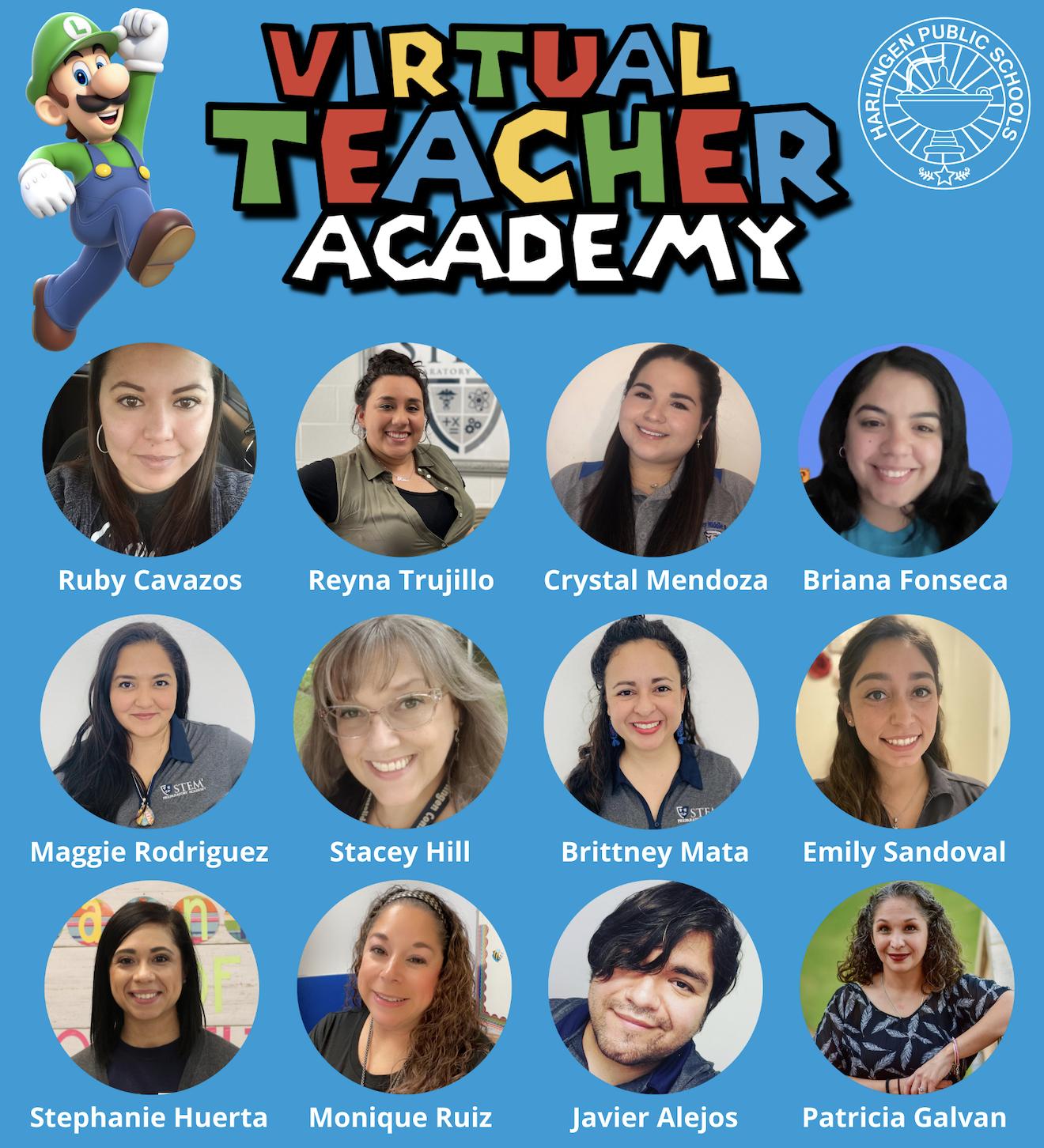 Los profesores de HCISD se preparan para el nuevo año escolar con una academia virtual para maestros.
