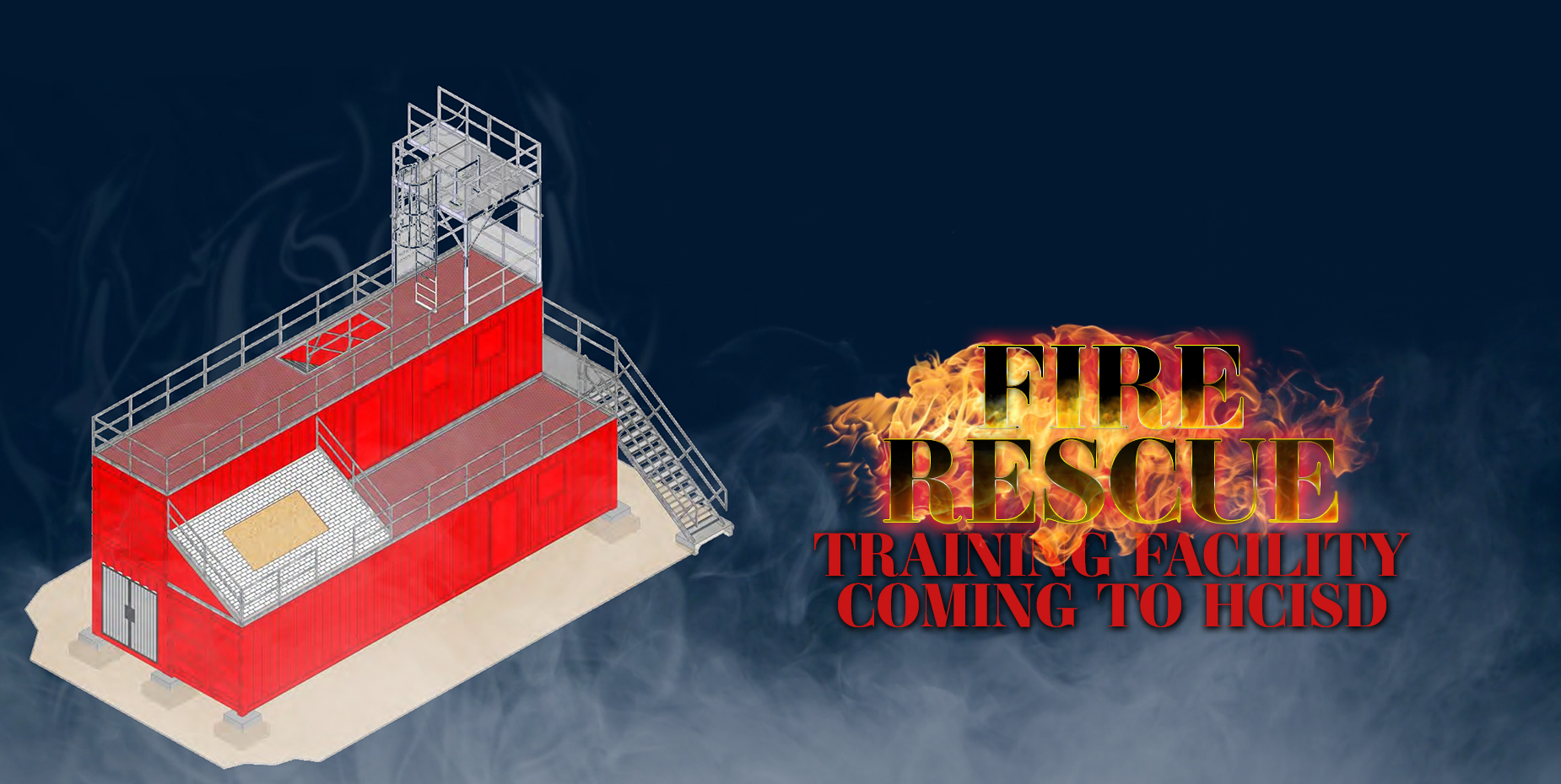 Fire rescue training facility coming to HCISD