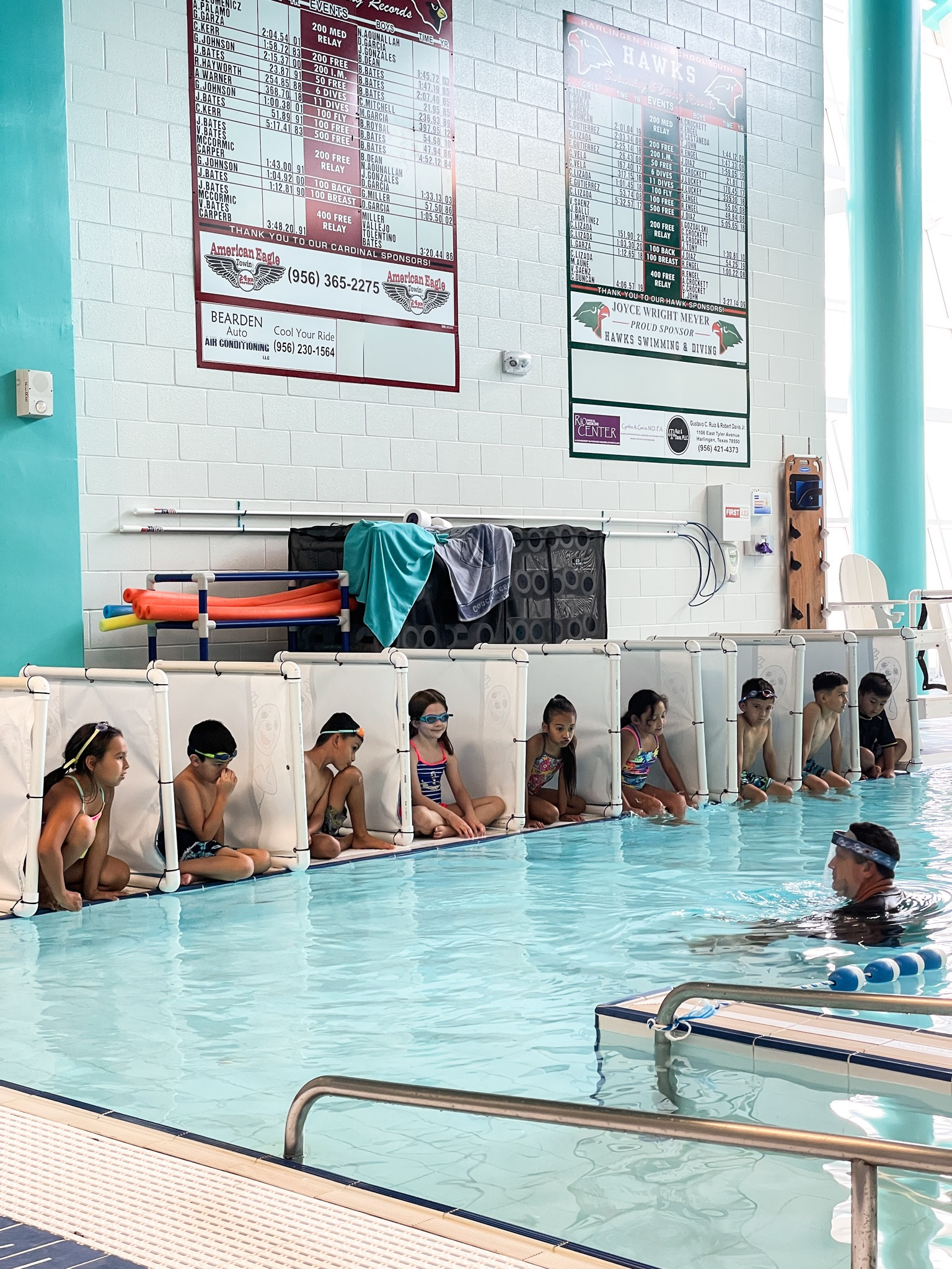 HCISD second-graders learn water safety and swimming