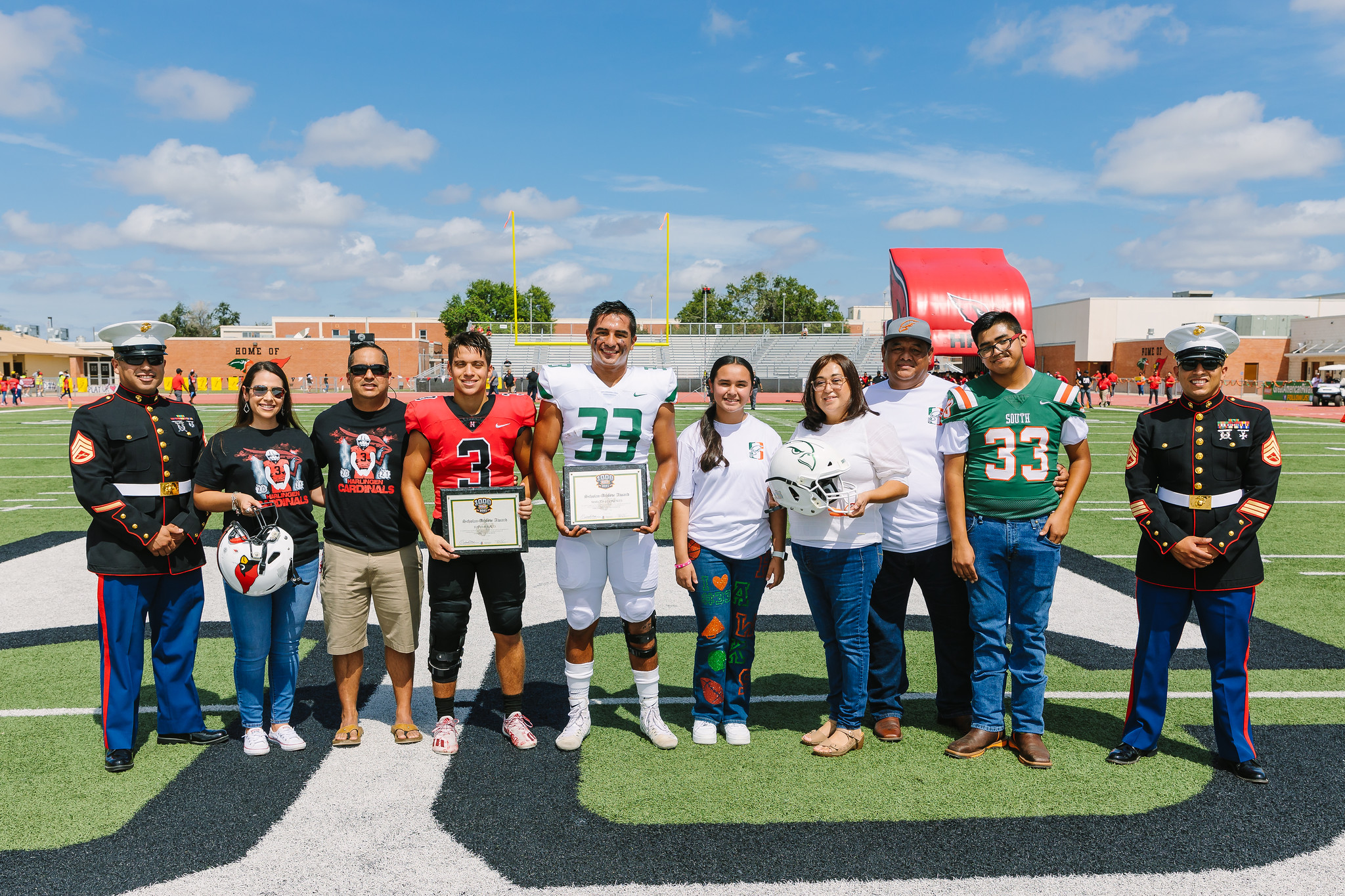 Bird Bowl athletes recognized in the Great American Rivalry Series