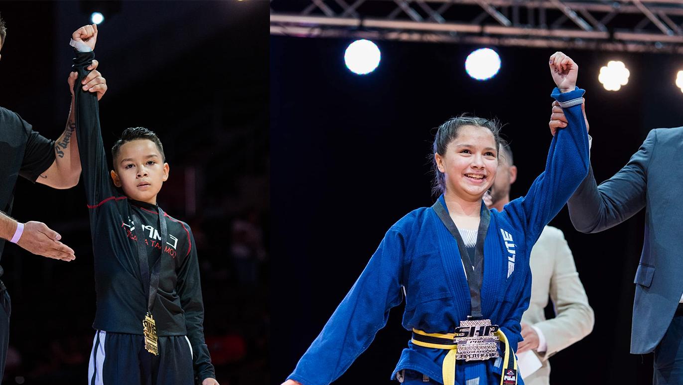 Lerma siblings train to become Brazilian jiujitsu champs